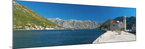 Montenegro, Bay of Kotor, Perast, Our Lady of the Rocks Island, Church of Our Lady of the Rocks-Alan Copson-Mounted Photographic Print