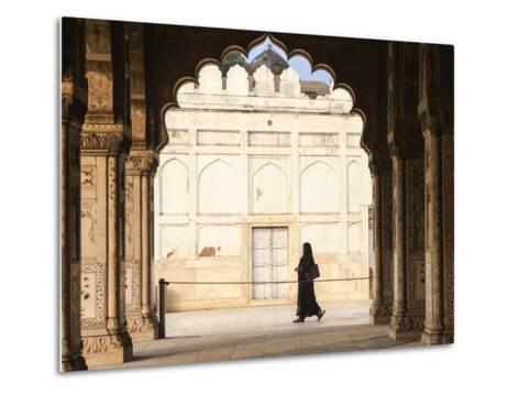India, Delhi, Old Delhi, Red Fort, Diwan-i-Khas- Hall of Private Audience-Jane Sweeney-Metal Print