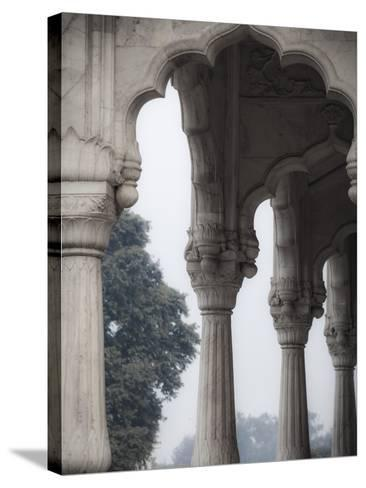 India, Delhi, Old Delhi, Red Fort-Jane Sweeney-Stretched Canvas Print