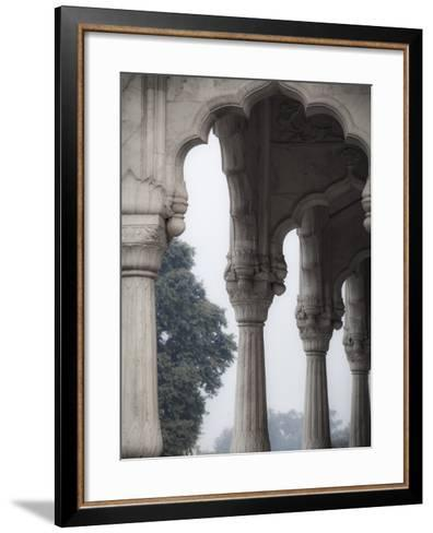 India, Delhi, Old Delhi, Red Fort-Jane Sweeney-Framed Art Print