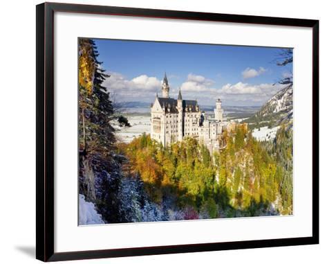 Neuschwanstein Castle, Bavaria, Germany, Europe-Gavin Hellier-Framed Art Print