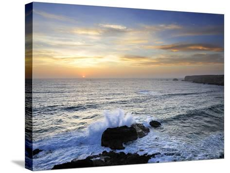Coastline of Carrapateira. Costa Vicentina Nature Park, Portugal, Wild Atlantic Coast in Europe-Mauricio Abreu-Stretched Canvas Print