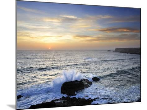 Coastline of Carrapateira. Costa Vicentina Nature Park, Portugal, Wild Atlantic Coast in Europe-Mauricio Abreu-Mounted Photographic Print