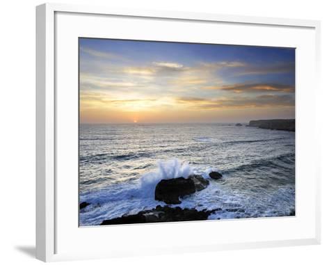 Coastline of Carrapateira. Costa Vicentina Nature Park, Portugal, Wild Atlantic Coast in Europe-Mauricio Abreu-Framed Art Print