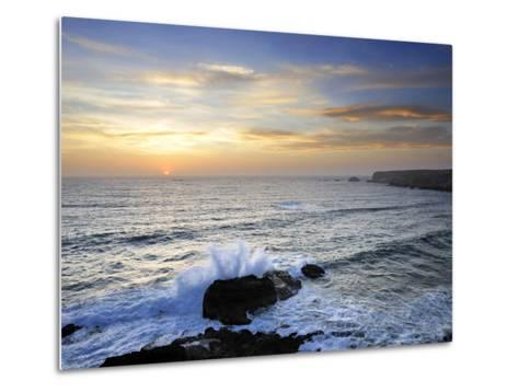 Coastline of Carrapateira. Costa Vicentina Nature Park, Portugal, Wild Atlantic Coast in Europe-Mauricio Abreu-Metal Print