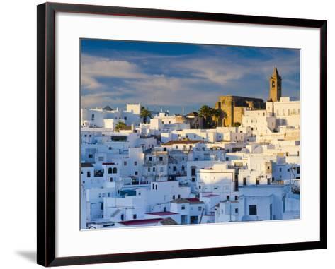Spain, Andalucia, Cadiz Province, Vejer De la Frontera-Alan Copson-Framed Art Print