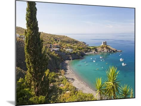 Remains of the Watchtower, Carpino Bay, Scalea, Calabria-Peter Adams-Mounted Photographic Print