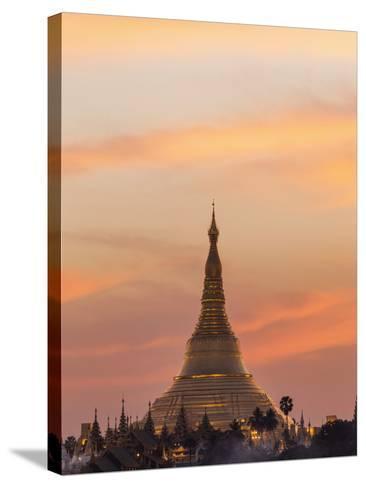 Myanmar (Burma), Yangon, Shwedagon Pagoda-Steve Vidler-Stretched Canvas Print
