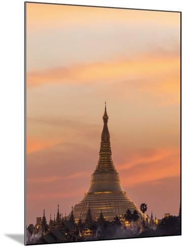Myanmar (Burma), Yangon, Shwedagon Pagoda-Steve Vidler-Mounted Photographic Print