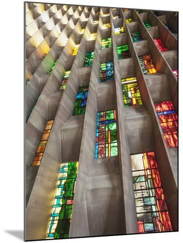 England, Warwickshire, Coventry, New Coventry Cathedral-Steve Vidler-Mounted Photographic Print