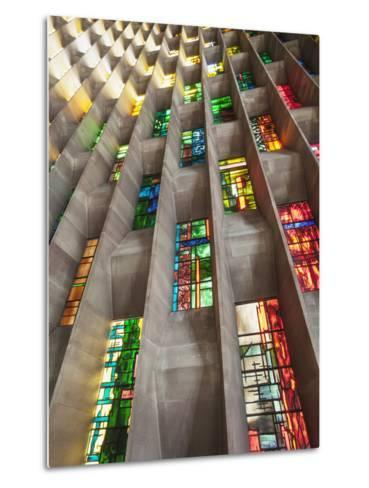 England, Warwickshire, Coventry, New Coventry Cathedral-Steve Vidler-Metal Print