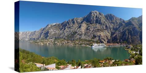 Montenegro, Bay of Kotor, Kotor-Alan Copson-Stretched Canvas Print