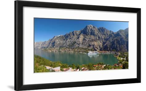 Montenegro, Bay of Kotor, Kotor-Alan Copson-Framed Art Print