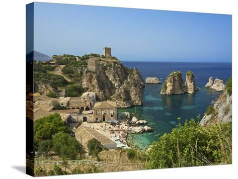 Scopello, Sicily, Italy-Katja Kreder-Stretched Canvas Print