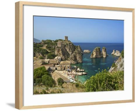Scopello, Sicily, Italy-Katja Kreder-Framed Art Print