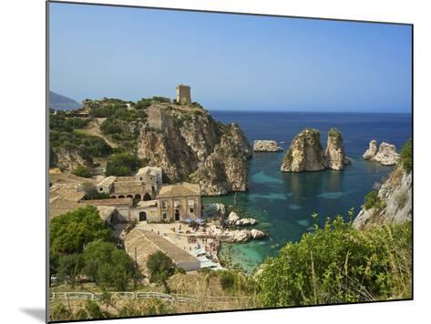 Scopello, Sicily, Italy-Katja Kreder-Mounted Photographic Print