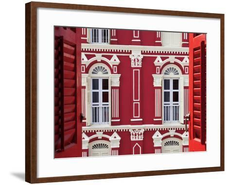 Old Chinese Merchant House, China Town District, Singapore, South East Asia-Gavin Hellier-Framed Art Print