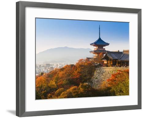 Japan, Honshu, Kansai Region, Kiyomizu-Dera-Gavin Hellier-Framed Art Print