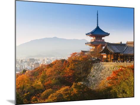 Japan, Honshu, Kansai Region, Kiyomizu-Dera-Gavin Hellier-Mounted Photographic Print