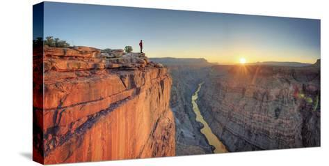 USA, Arizona, Grand Canyon National Park (North Rim), Toroweap (Tuweep)-Michele Falzone-Stretched Canvas Print