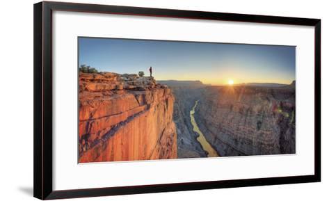 USA, Arizona, Grand Canyon National Park (North Rim), Toroweap (Tuweep)-Michele Falzone-Framed Art Print