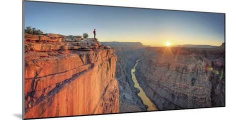 USA, Arizona, Grand Canyon National Park (North Rim), Toroweap (Tuweep)-Michele Falzone-Mounted Photographic Print