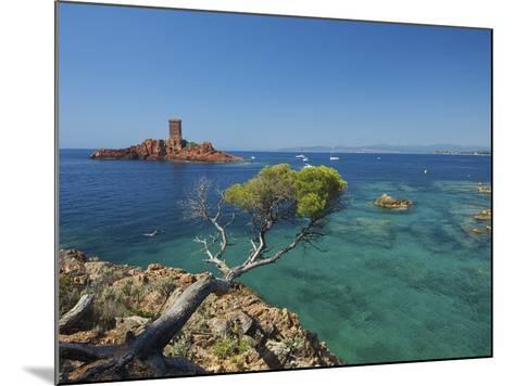 Ile D´Or at Corniche De L´Esterel, Cote D´Azur Provence-Alpes-Cote D'Azur, France-Katja Kreder-Mounted Photographic Print