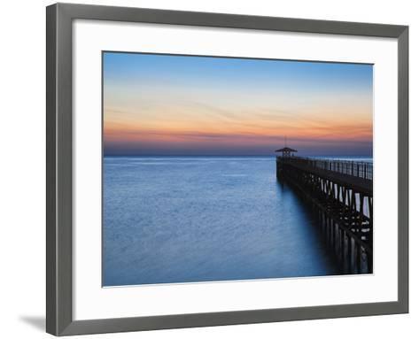 Kuwait, Kuwait City, Pier on Arabian Gulf Street-Jane Sweeney-Framed Art Print