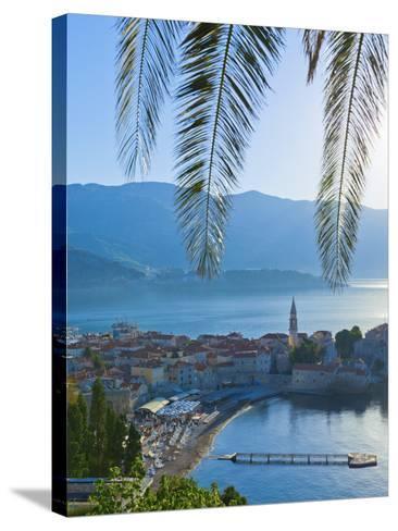 Montenegro, Budva, Old Town, Stari Grad-Alan Copson-Stretched Canvas Print