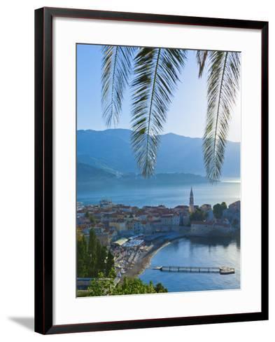 Montenegro, Budva, Old Town, Stari Grad-Alan Copson-Framed Art Print
