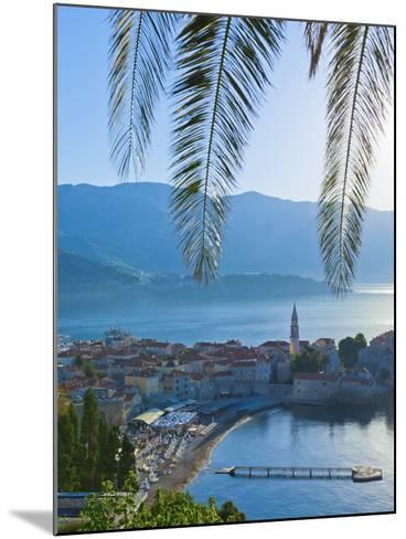 Montenegro, Budva, Old Town, Stari Grad-Alan Copson-Mounted Photographic Print