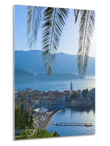 Montenegro, Budva, Old Town, Stari Grad-Alan Copson-Metal Print