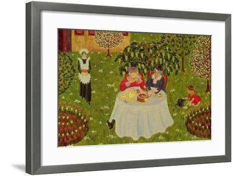 Afternoon Coffee-Ditz-Framed Art Print