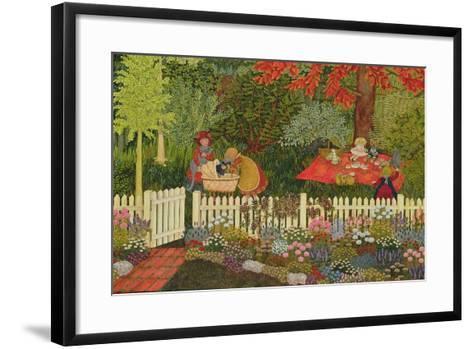 Children and Cats-Ditz-Framed Art Print