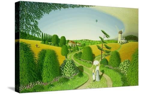 Going Home, 1989-Peter Szumowski-Stretched Canvas Print