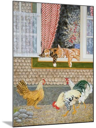 The Fowl and the Pussycats-Ditz-Mounted Giclee Print