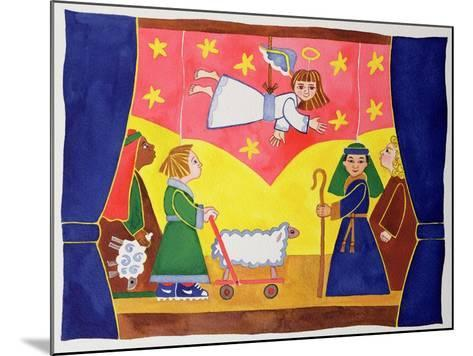 The Nativity Play-Cathy Baxter-Mounted Giclee Print