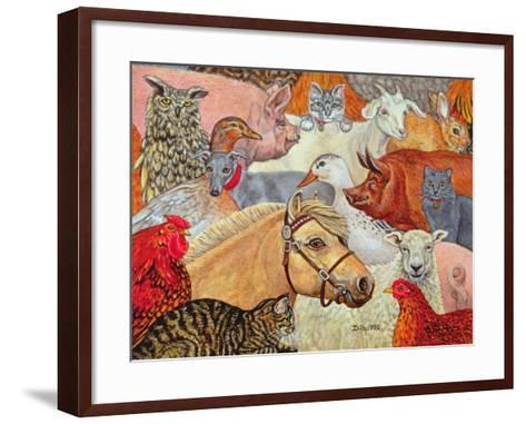 A Patchwork for Laura, 1993-Ditz-Framed Art Print