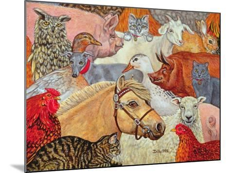 A Patchwork for Laura, 1993-Ditz-Mounted Giclee Print
