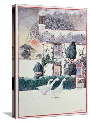 R.G. Janek's First Christmas, 1985-Lisa Graa Jensen-Stretched Canvas Print