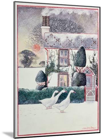 R.G. Janek's First Christmas, 1985-Lisa Graa Jensen-Mounted Giclee Print