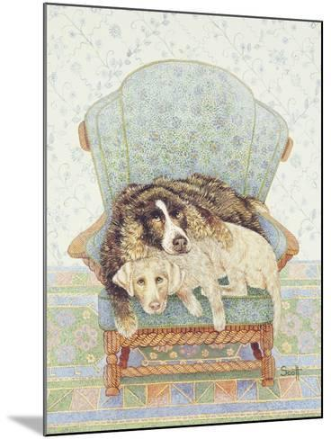 The Waiting Game-Pat Scott-Mounted Giclee Print