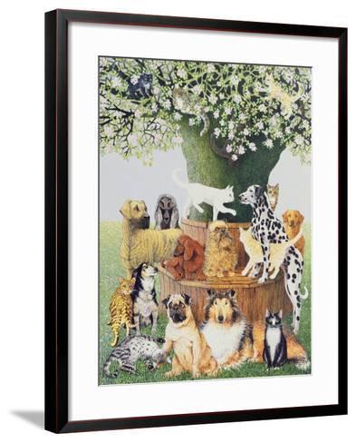 The Trysting Tree-Pat Scott-Framed Art Print
