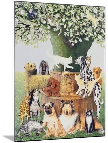 The Trysting Tree-Pat Scott-Mounted Giclee Print