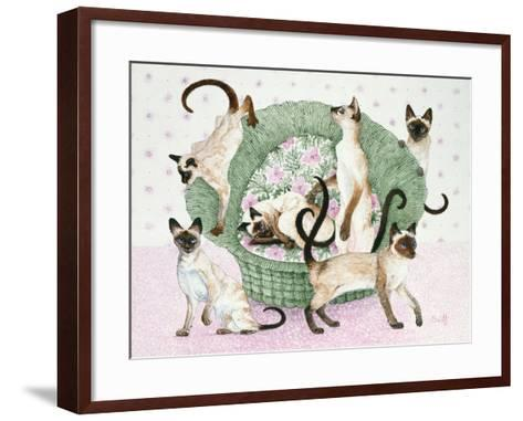 We are Siamese If You Please-Pat Scott-Framed Art Print