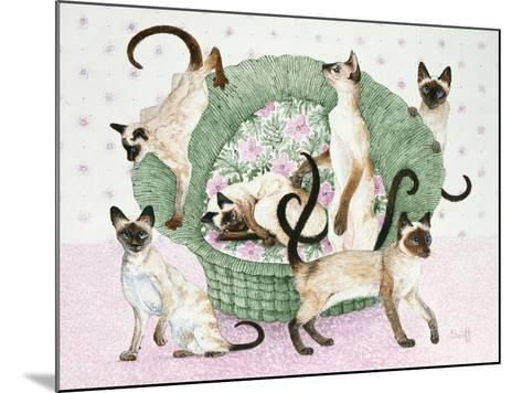 We are Siamese If You Please-Pat Scott-Mounted Giclee Print
