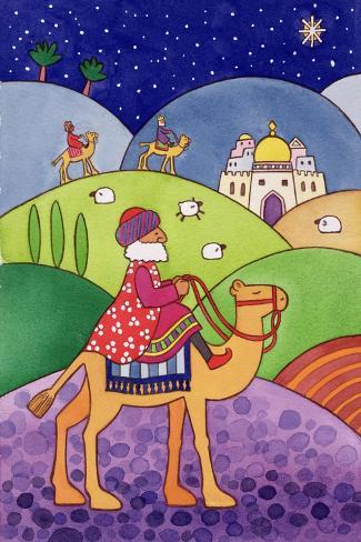 The Three Kings, 1997-Cathy Baxter-Stretched Canvas Print