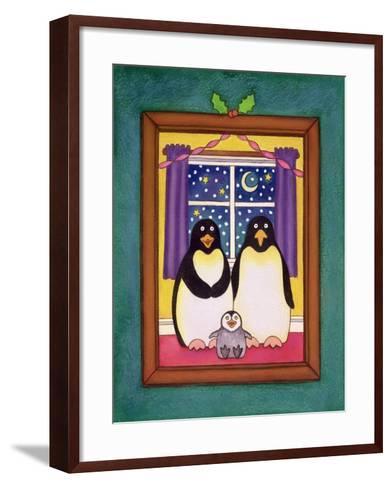 Penguin Family Christmas, 1997-Cathy Baxter-Framed Art Print