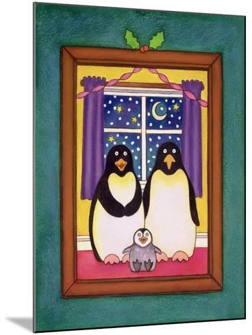 Penguin Family Christmas, 1997-Cathy Baxter-Mounted Giclee Print