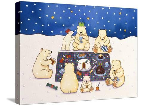 Polar Bear Picnic, 1997-Cathy Baxter-Stretched Canvas Print